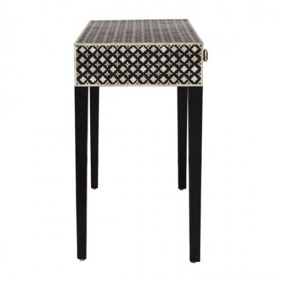 Delhi Mother of Pearl Console Table 2 Drawer
