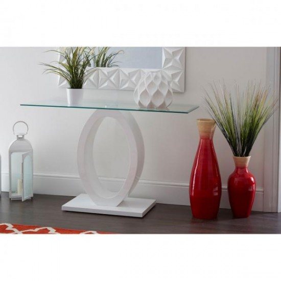 Cecile White Square High Gloss 3D Effect Wall Mirror