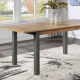 Fusion Reclaimed Wood Extending Dining Table 6-8 Seater