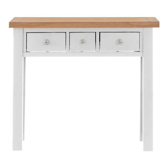 Toto Two-Tone Grey 3 Drawer Dressing Table