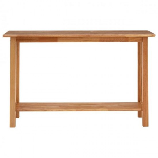 Krone Natural Wooden Rectangular Console Table