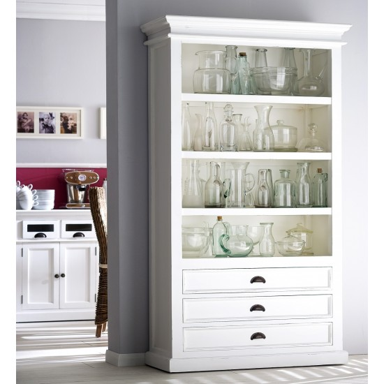 Cannes Large White Cabinet