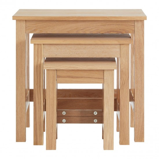 Abram Ash Nest of 3 Tables
