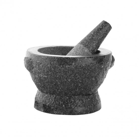 Granite Grey Mortar And Pestle