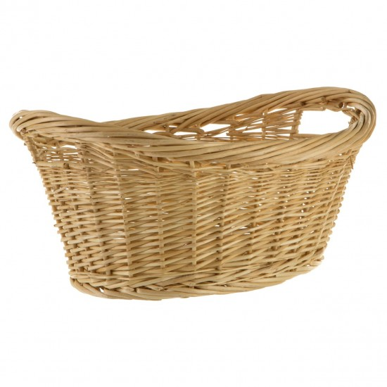 Willow Natural Oval Basket