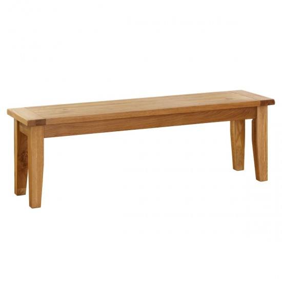 Rutherford Solid Oak Dining Bench