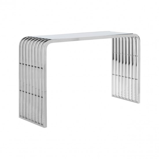 Glamour Glass Console Table