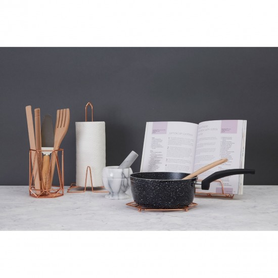 Marble White Mortar And Pestle