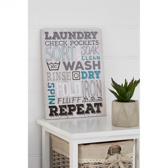 Laundry Utility Room Wall Plaque