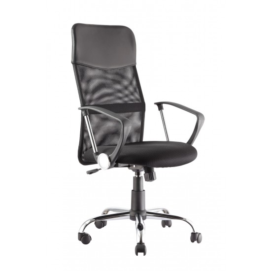 Foster Black Mesh Office Chair