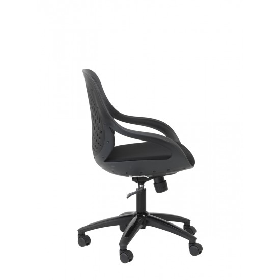 Spice Black Office Chair Mesh Back