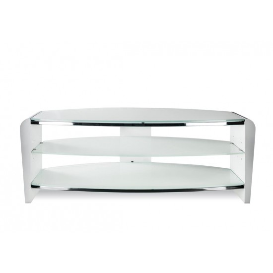 "Arlington Arctic White TV Stand up to 50"" TVs"