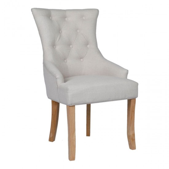 Courtney Beige Set of 2 Dining Chairs
