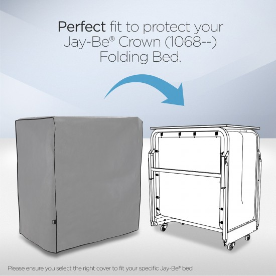 JAY-BE Crown Storage Cover For Crown Premier & Crown Windermere Folding Beds