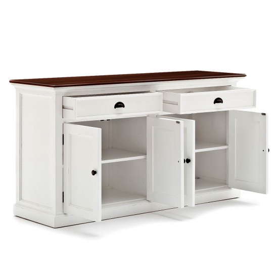 Cannes Accent White Sideboard