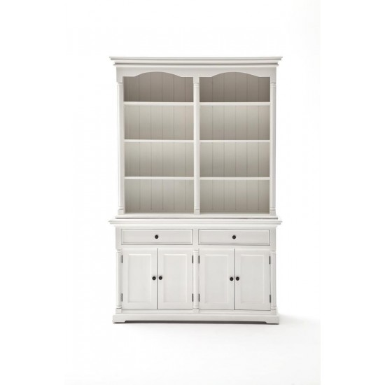 Mougins White Display Cabinet Hutch